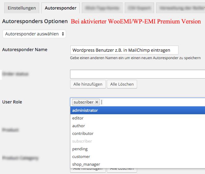 WP EMI WordPress e-Mail subscribe plugin