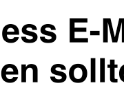 Warum Sie Business EMail-Marketing wie Amazon betreiben sollten.